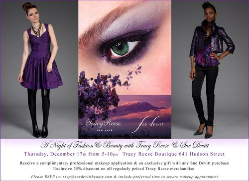 Sue Devitt - Tracy Reese Beauty & Fashion Event