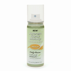 Sally Hansen Natural Beauty - Airbrush Spray Makeup, Medium - 1 oz