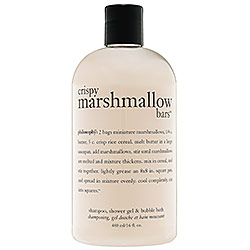 Crispy Marshmallow Bars Shampoo, Shower Gel & Bubble Bath