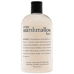 Crispy Marshmallow Bars Shampoo, Shower Gel & Bubble Bath